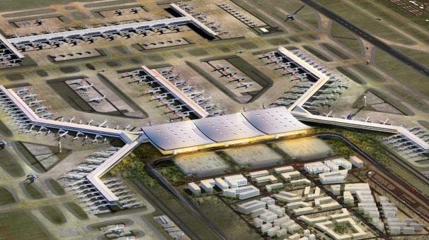 3. Havalimanı inşaatında sona doğru!