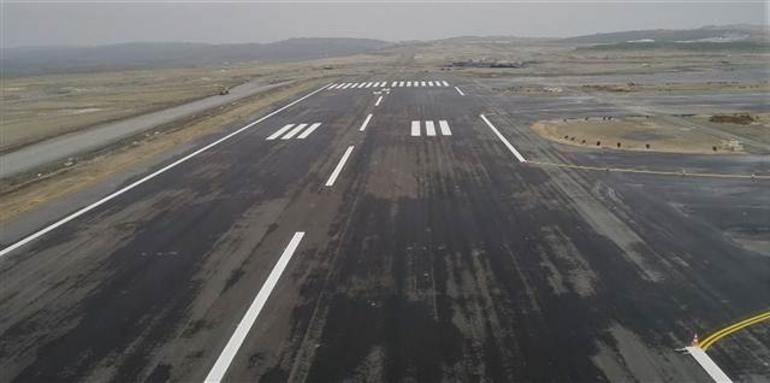 3. Havalimanı'nın pisti hazır!