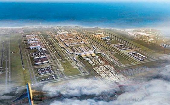 3. havalimanının yüzde 40'ı tamam!