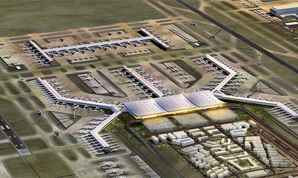 3. Havalimanı'nın yüzde 73'ü tamam!
