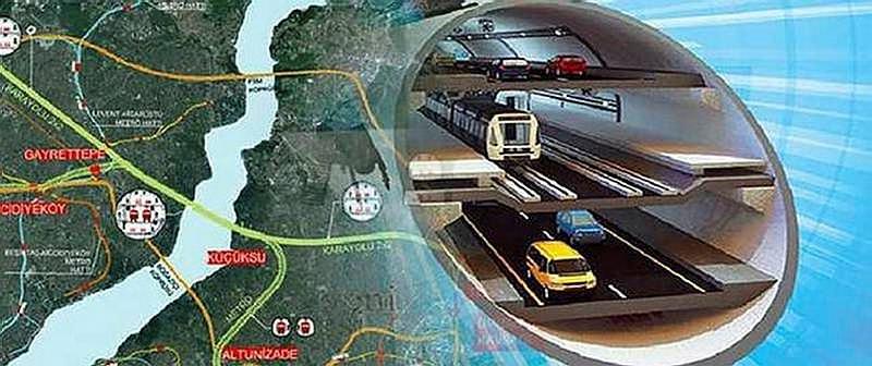 3 Katlı Büyük İstanbul Tüneli'nde son durum!