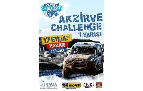 Akzirve Strada Bahçeşehir'de Off Road yarışması!