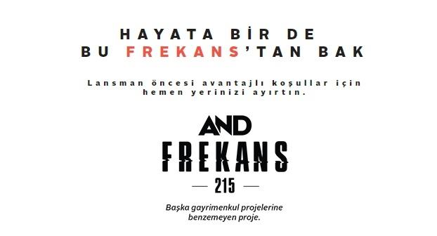 AND Frekans projesi geliyor!