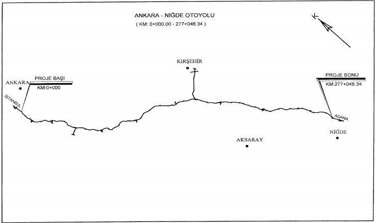 Ankara-Niğde Otoyolu için acele kamulaştırma kararı!