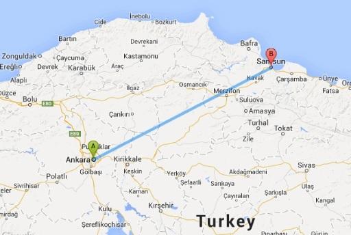 Ankara-Samsun arası 1,5 saat olacak!