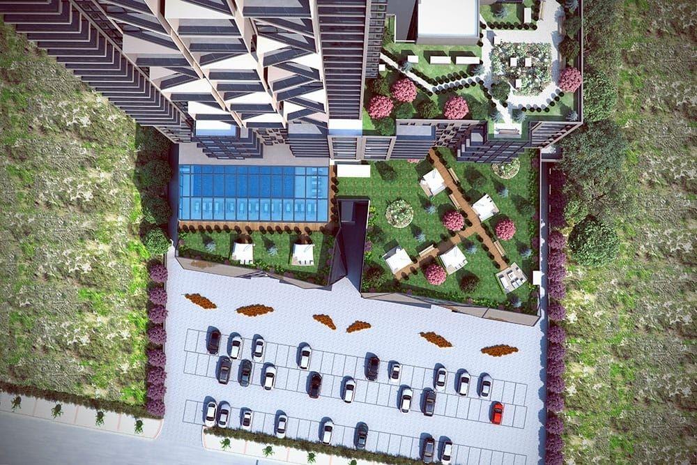 Ankara So Çayyolu projesinde fiyatlar 485 bin TL'den başlıyor!