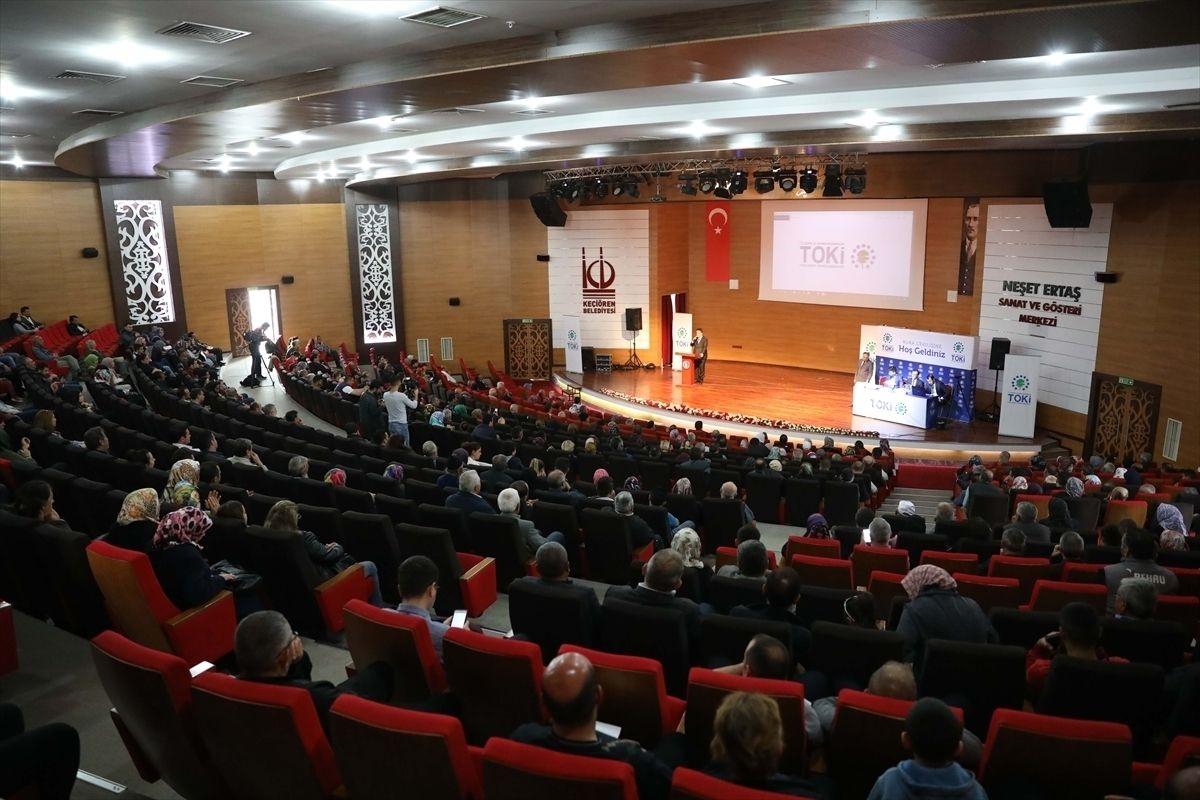 Ankara'da 50 bin sosyal konut için kuralar çekildi!