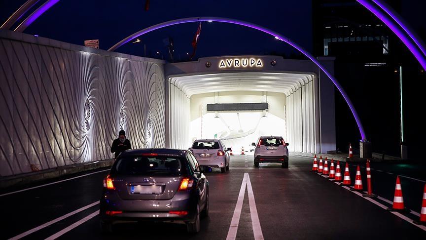 Avrasya Tüneli 7 gün 24 saat kesintisiz hizmette!