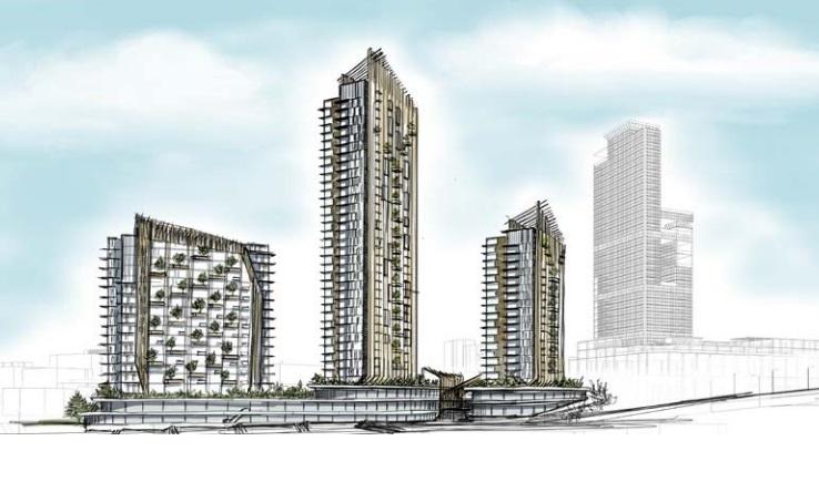 Babacan Central'de inşaat başlıyor! Mart 2021'de teslim!