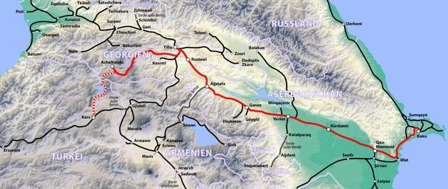 Bakü-Tiflis-Kars Demiryolu Projesi toplantısı 19 Temmuz'da!