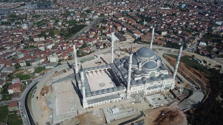 Çamlıca Camii inşaatında sona gelindi!