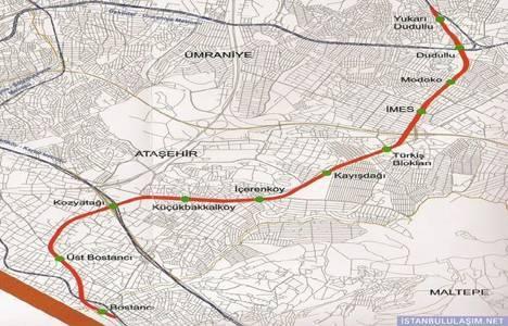 Dudullu-Bostancı Metrosu için çalışmalar başladı!