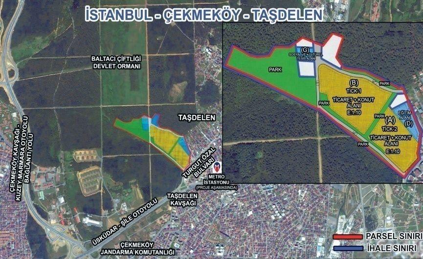 Emlak Konut Çekmeköy arazisi DAP Yapı'nın oldu!