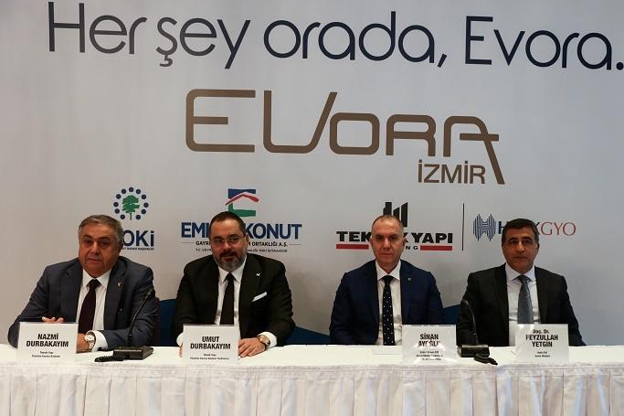 Evora İzmir ön talep topluyor!