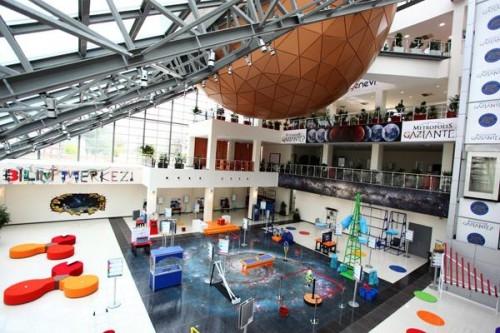 Gaziantep Bilim Merkezi 2020'de tamam!