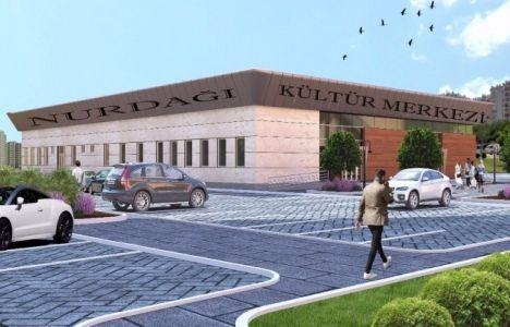 Gaziantep Nurdağı Kültür Merkezi binasının inşaatı başladı!