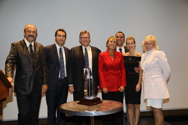 Güniz Çelen en prestijli gayrimenkul ödülünü aldı!