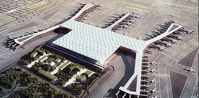İstanbul Yeni Havalimanı'nın yüzde 85'i tamamlandı!