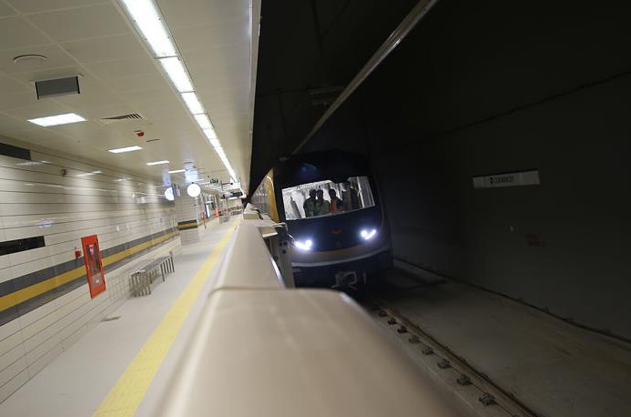 İstanbul'un 2 yeni metrosu yıl sonuna hazır!
