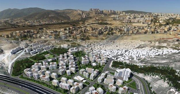Izmir Uzundere Kentsel Donusum Projesinin Temeli Atiliyor