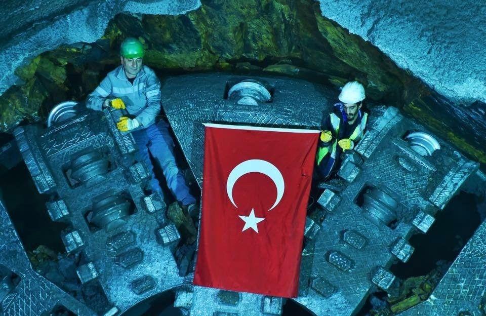Kabataş-Beşiktaş-Mecidiyeköy-Mahmutbey Metrosu'nun 4'te 3'ü tamam!