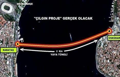 Kabataş Yaya Tüneli Projesi yeniden ihale edilecek!