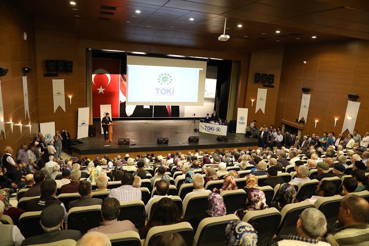 Kastamonu Taşköprü'de Emekli Konutlarının hak sahipleri belirlendi!