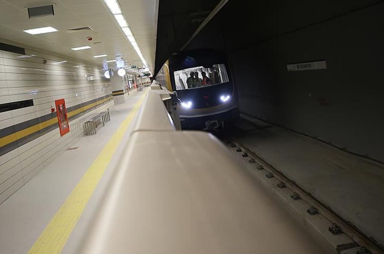 Kirazlı-Halkalı Metro Hattı'nda çalışmalar 27 Mart'ta yeniden başlayacak!
