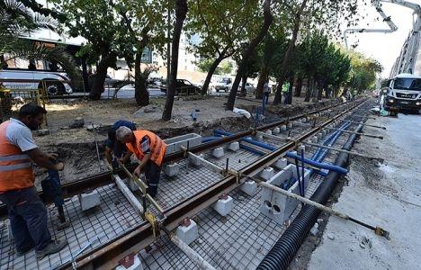 Konak Tramvayı inşaat çalışmalarında sona doğru!