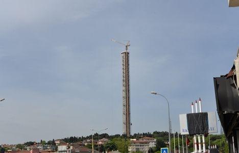 Küçük Çamlıca TV-Radyo Kulesi'nde sona doğru!