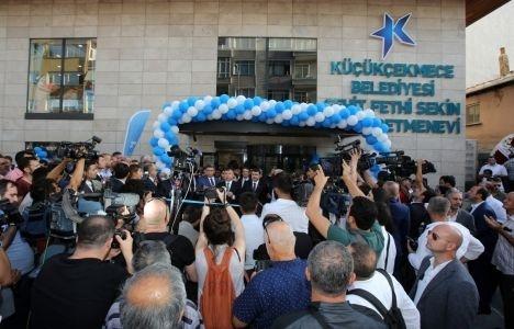 Küçükçekmece Şehit Fethi Sekin Öğretmenevi açıldı!