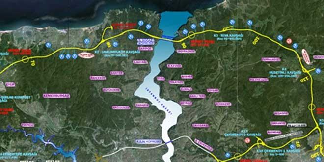 Kuzey Marmara Otoyolu TEM Kurtköy bağlantı yolu açılıyor!