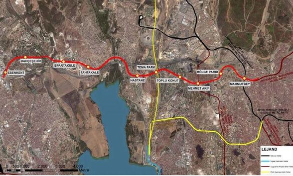 Mahmutbey-Esenyurt Metro Hattı'na ek durak!