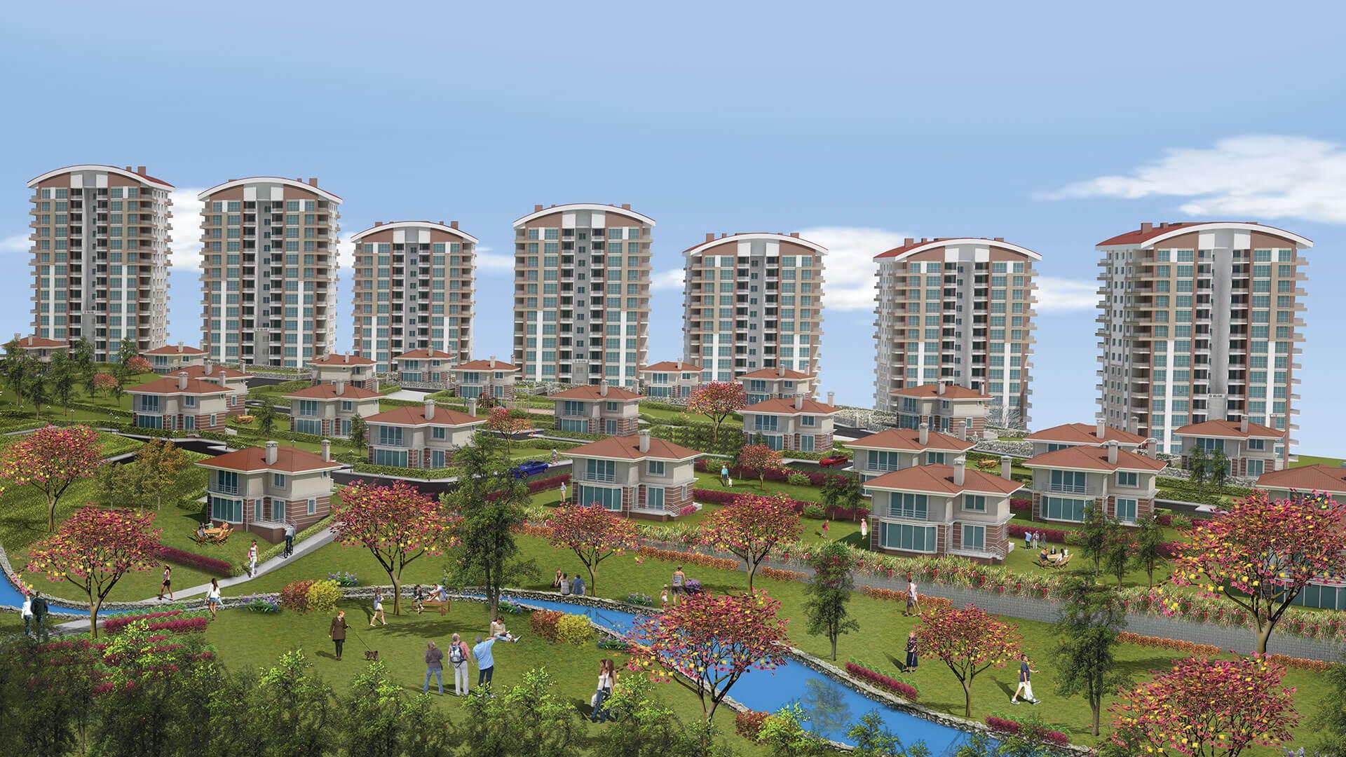 Mebuskent'te daireler teslim ediliyor!