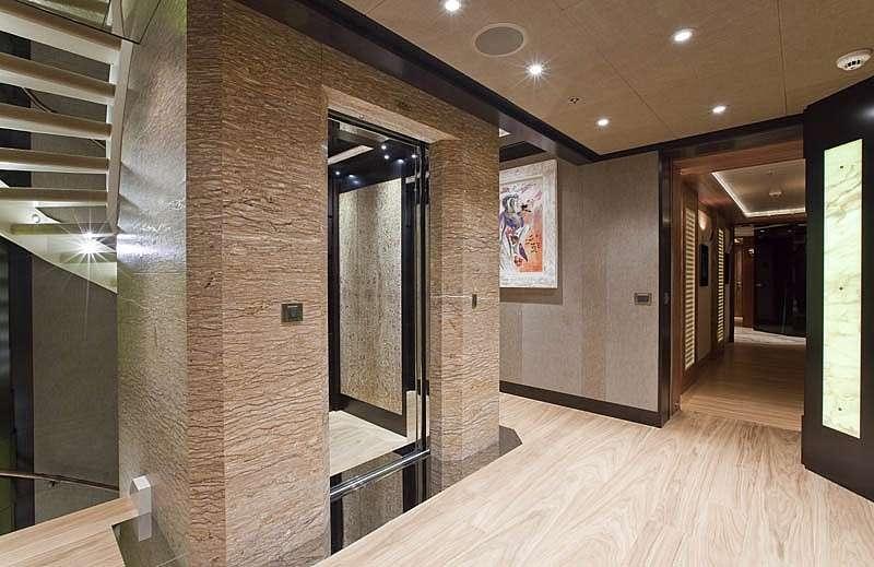 Mimari projeye uygun olan binaya asansör yaptırabilirsiniz!
