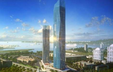 Mistral İzmir'in inşaatı tamam!