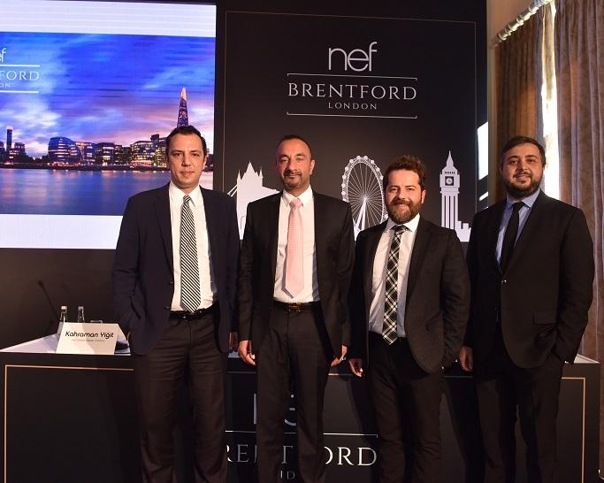 Nef Brentford Londra lanse edildi!