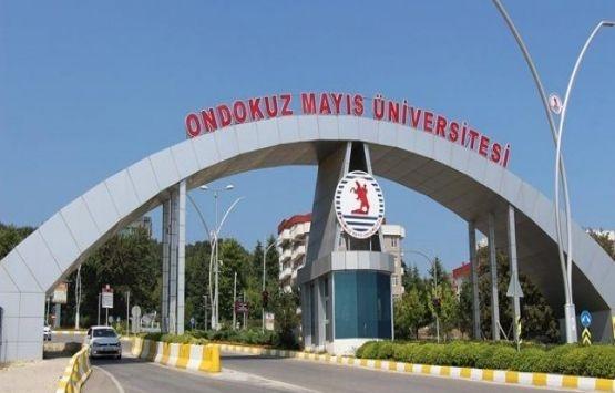 Ondokuz Mayıs Üniversitesi yerleşkesindeki kaçak yapılar yıkıldı!