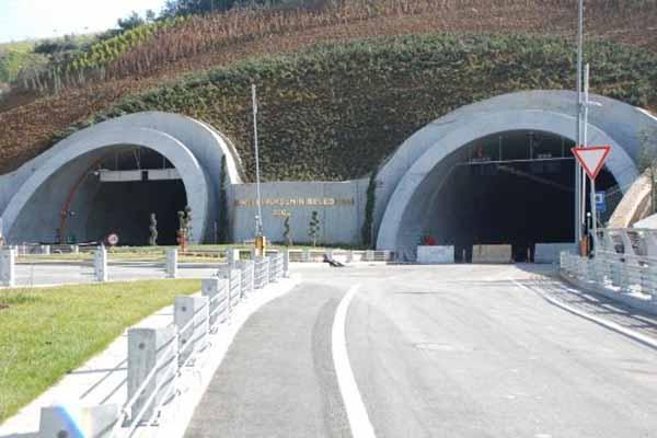 Ovit Tüneli çalışmaları tamamlandı!