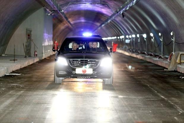 Sahil yolundaki Avrasya Tüneli düzenleme çalışmaları tamam!