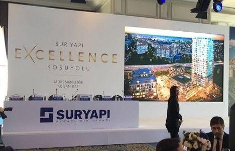 Sur Yapı Koşuyolu projesi Excellence Koşuyolu adıyla yükselecek!