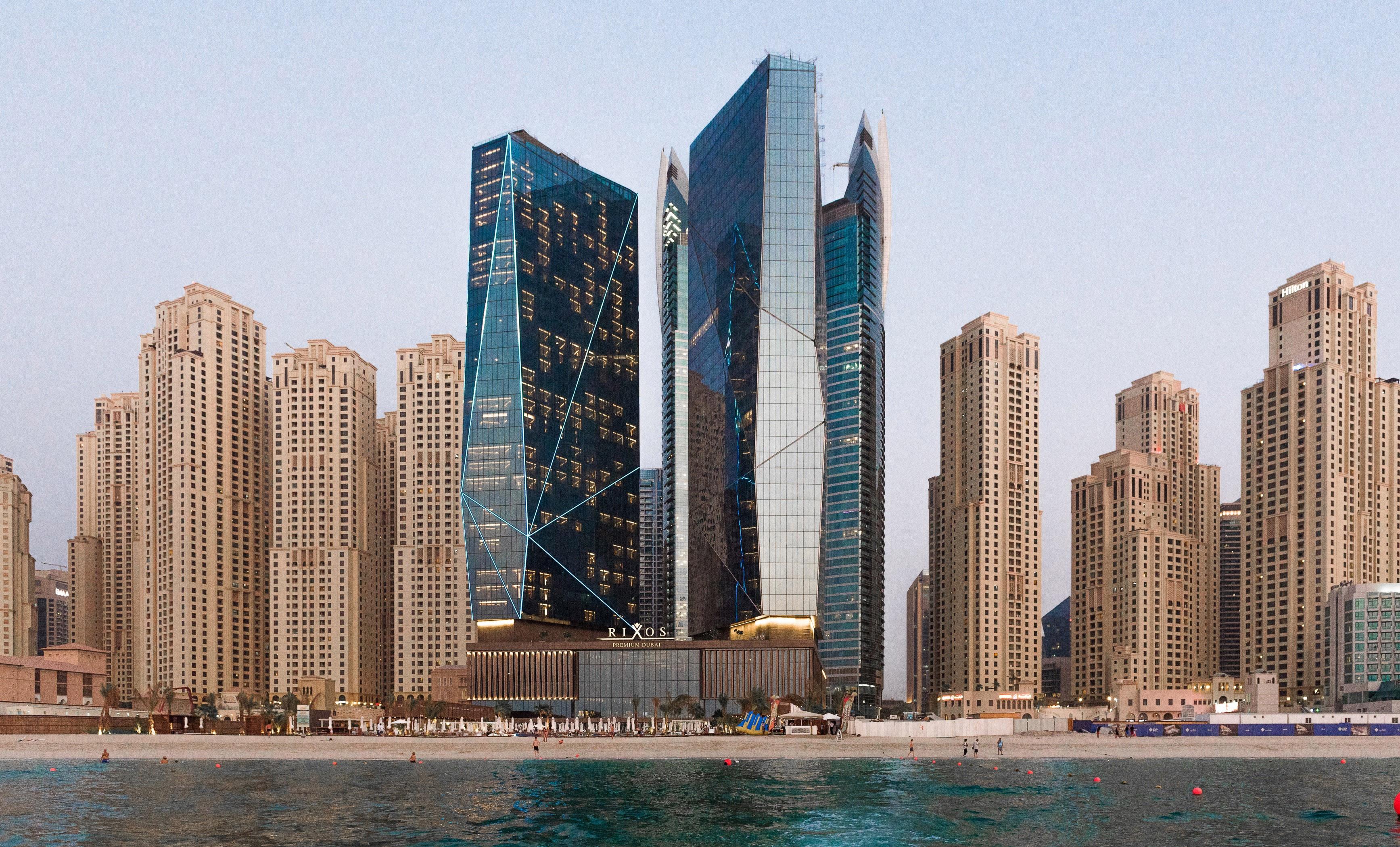 Tabanlıoğlu Mimarlık'ın Dubai Crystal Towers projesinin inşaatı tamam!