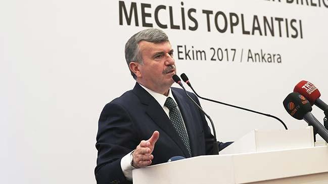 Tahir Akyürek Türkiye Belediyeler Birliği Başkanı oldu!