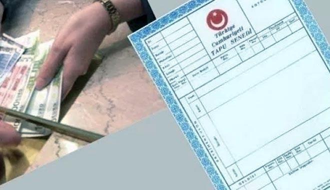 Tapu kayıt örneği harcı 2018!