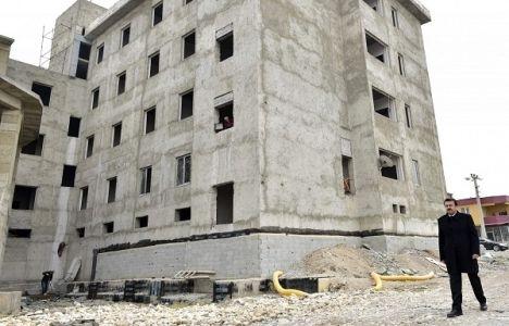 Tenzile Erdoğan İmam Hatip Lisesi'nin inşaatı bitiyor!