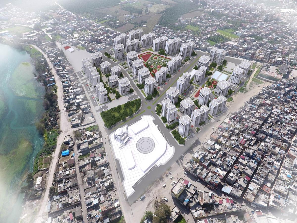 TOKİ Adana Seyhan'da kentsel dönüşüme devam ediyor!