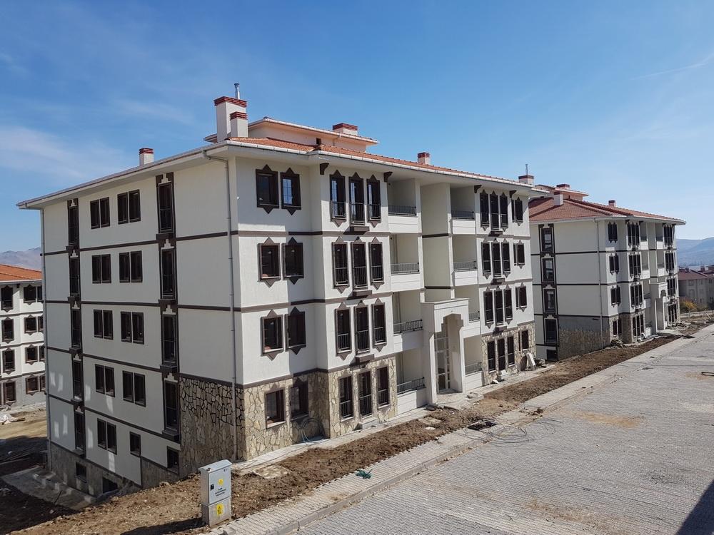 TOKİ Kırşehir Kaman'da 207 hak sahibi belirlendi!