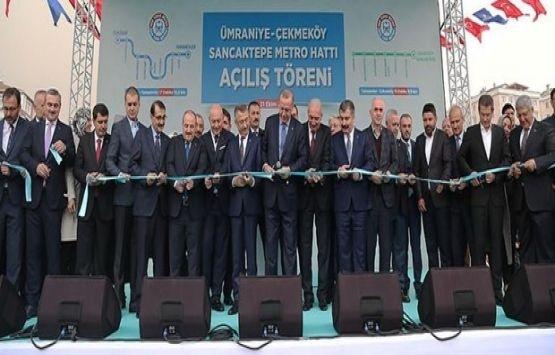 Üsküdar-Çekmeköy-Sancaktepe metro hattının 2. etabı açıldı!