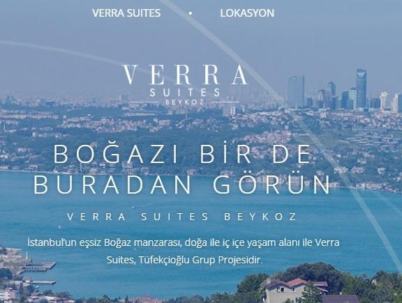 Verra Suites Beykoz projesi yolda!